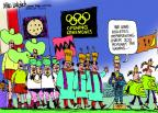 Mike Luckovich  Mike Luckovich's Editorial Cartoons 2012-07-10 2012 Olympics