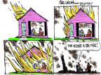 Mike Luckovich  Mike Luckovich's Editorial Cartoons 2012-07-12 climate change