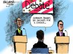 Mike Luckovich  Mike Luckovich's Editorial Cartoons 2012-10-02 2012 debate