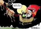 Mike Luckovich  Mike Luckovich's Editorial Cartoons 2012-12-02 Santa Claus