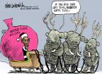 Mike Luckovich  Mike Luckovich's Editorial Cartoons 2012-12-04 Santa Claus