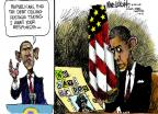 Mike Luckovich  Mike Luckovich's Editorial Cartoons 2013-01-16 Obama republicans