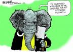 Mike Luckovich  Mike Luckovich's Editorial Cartoons 2013-01-23 Obama republicans
