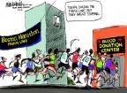 Mike Luckovich  Mike Luckovich's Editorial Cartoons 2013-04-16 injury