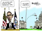 Mike Luckovich  Mike Luckovich's Editorial Cartoons 2013-09-04 presidential administration