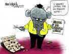 Mike Luckovich  Mike Luckovich's Editorial Cartoons 2013-10-02 republican politician
