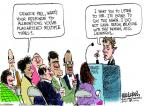 Mike Luckovich  Mike Luckovich's Editorial Cartoons 2013-11-05 republican politician