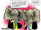Mike Luckovich  Mike Luckovich's Editorial Cartoons 2013-12-08 republican politician