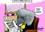 Mike Luckovich  Mike Luckovich's Editorial Cartoons 2014-03-06 prez