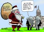 Mike Luckovich  Mike Luckovich's Editorial Cartoons 2014-04-01 Santa Claus