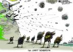 Mike Luckovich  Mike Luckovich's Editorial Cartoons 2014-06-05 climate change