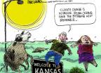 Mike Luckovich  Mike Luckovich's Editorial Cartoons 2014-06-26 climate change
