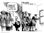 Mike Luckovich  Mike Luckovich's Editorial Cartoons 2006-04-23 Donald Rumsfeld