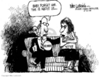 Mike Luckovich  Mike Luckovich's Editorial Cartoons 2006-08-09 relationship