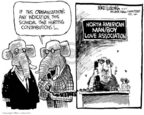 Mike Luckovich  Mike Luckovich's Editorial Cartoons 2006-10-03 organization