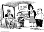 Mike Luckovich  Mike Luckovich's Editorial Cartoons 2006-11-17 accident
