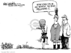 Mike Luckovich  Mike Luckovich's Editorial Cartoons 2007-01-31 policy