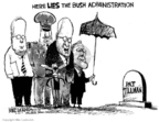 Mike Luckovich  Mike Luckovich's Editorial Cartoons 2007-04-25 Donald Rumsfeld