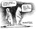 Mike Luckovich  Mike Luckovich's Editorial Cartoons 2008-01-07 climate change