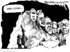 Mike Luckovich  Mike Luckovich's Editorial Cartoons 2008-01-25 Donald Rumsfeld