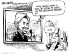 Mike Luckovich  Mike Luckovich's Editorial Cartoons 2008-02-13 campaign strategy