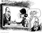 Mike Luckovich  Mike Luckovich's Editorial Cartoons 2008-08-22 Condoleeza Rice