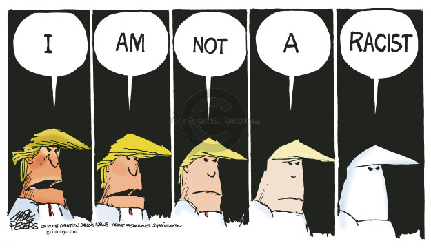 I am not a racist.
