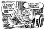 Mike Peters  Mike Peters' Editorial Cartoons 1999-04-13 television