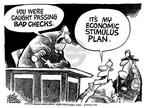 Mike Peters  Mike Peters' Editorial Cartoons 2003-01-09 finance