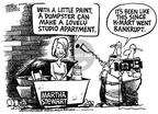 Mike Peters  Mike Peters' Editorial Cartoons 2002-01-27 bankrupt