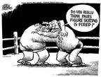 Mike Peters  Mike Peters' Editorial Cartoons 2002-02-15 2002 Olympics