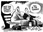 Mike Peters  Mike Peters' Editorial Cartoons 2002-03-29 summit