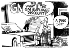 Mike Peters  Mike Peters' Editorial Cartoons 2005-06-24 automotive industry