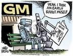 Mike Peters  Mike Peters' Editorial Cartoons 2006-06-29 automotive industry