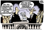 Mike Peters  Mike Peters' Editorial Cartoons 2006-06-30 presidential authority