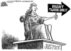 Mike Peters  Mike Peters' Editorial Cartoons 2005-07-03 justice