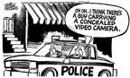 Mike Peters  Mike Peters' Editorial Cartoons 2002-07-13 officer