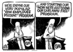 Mike Peters  Mike Peters' Editorial Cartoons 2005-07-29 automotive industry