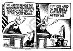 Mike Peters  Mike Peters' Editorial Cartoons 2003-08-30 justice