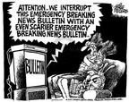 Mike Peters  Mike Peters' Editorial Cartoons 2001-10-18 television