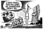 Mike Peters  Mike Peters' Editorial Cartoons 2006-04-01 immigration
