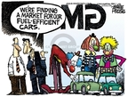 Mike Peters  Mike Peters' Editorial Cartoons 2008-05-29 automotive industry