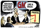 Mike Peters  Mike Peters' Editorial Cartoons 2008-06-03 automotive industry