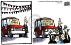 Mike Peters  Mike Peters' Editorial Cartoons 2008-07-03 car sales