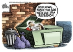 Mike Peters  Mike Peters' Editorial Cartoons 2008-09-23 financial crisis