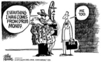 Mike Peters  Mike Peters' Editorial Cartoons 2004-11-22 money