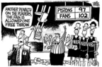 Mike Peters  Mike Peters' Editorial Cartoons 2004-11-25 basketball referee