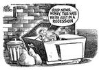Mike Peters  Mike Peters' Editorial Cartoons 2001-12-14 recession