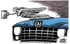 Mike Peters  Mike Peters' Editorial Cartoons 2008-12-04 automotive industry