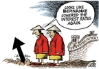 Mike Peters  Mike Peters' Editorial Cartoons 2008-12-24 recession
